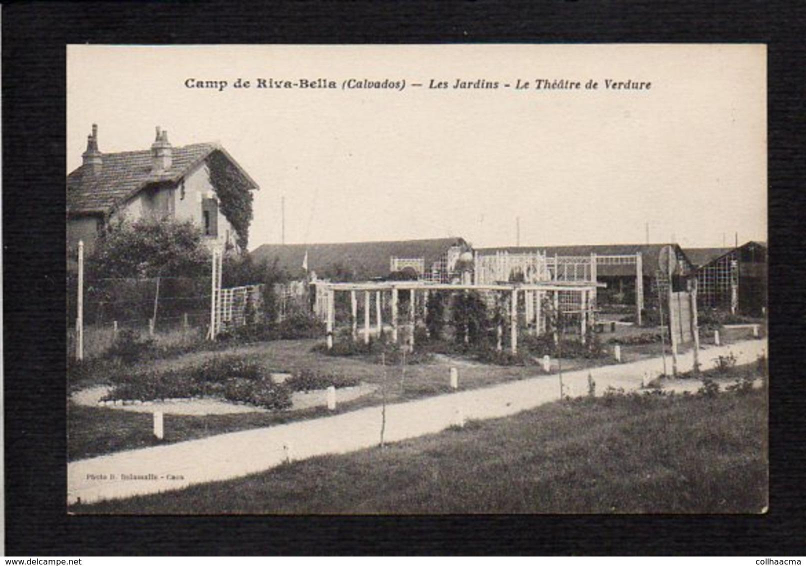 14 Ouistreham Riva Bella / Camp De Riva Bella / Les Jardins / Thèâtre De Verdure - Ouistreham