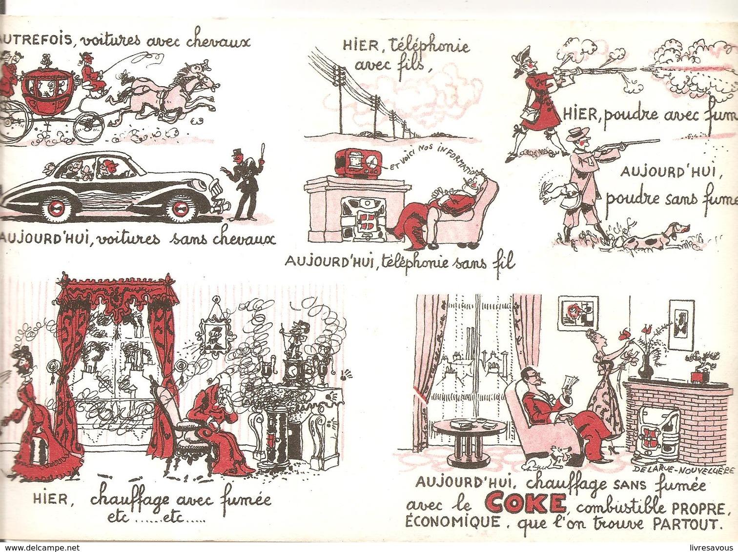 Buvard COKE Aujourd'hui, Le Chauffage Sans Fumée Avec Le COKE, Combustible PROPRE - Electricité & Gaz