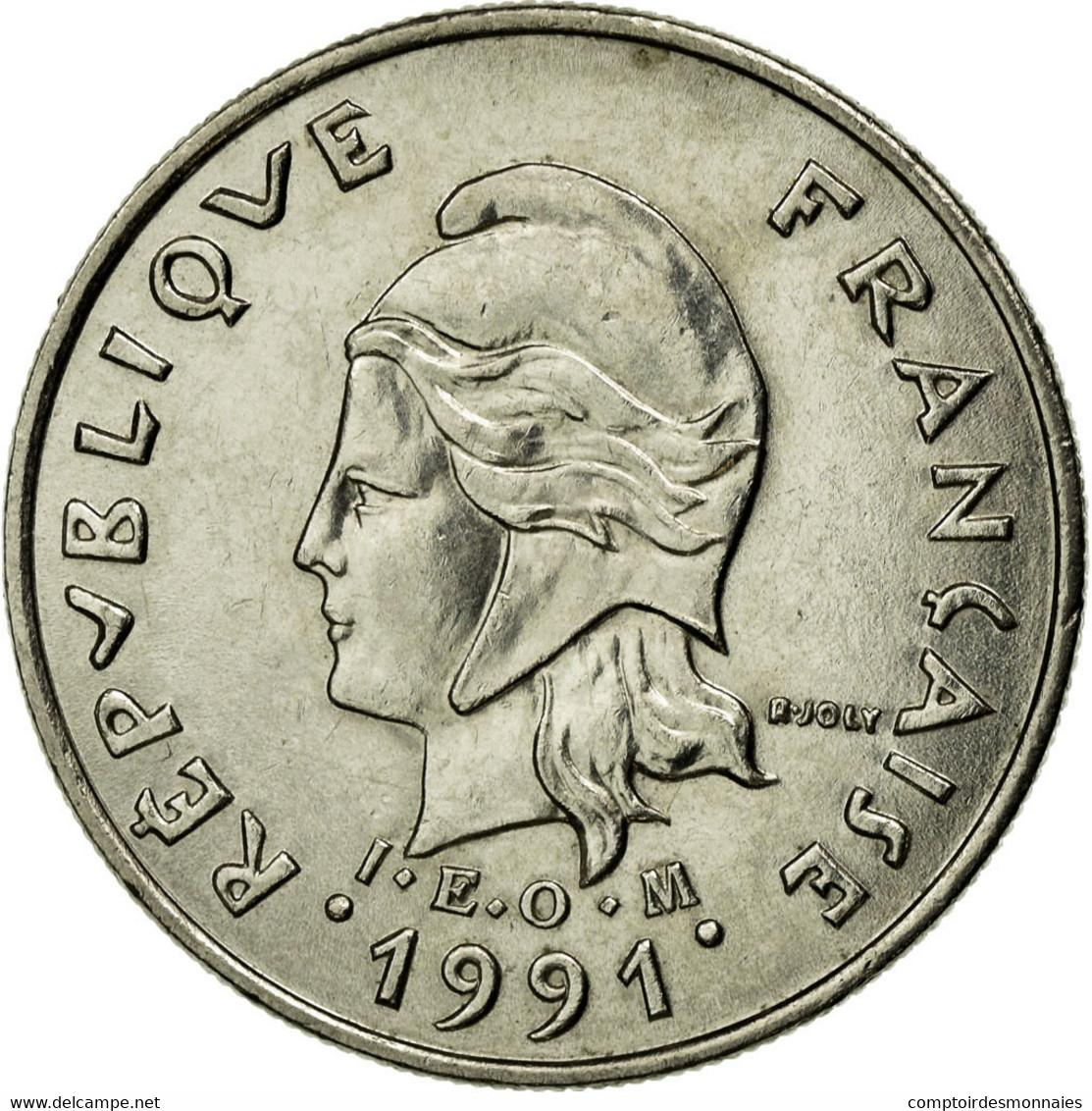 Monnaie, French Polynesia, 10 Francs, 1991, Paris, TTB, Nickel, KM:8 - Polynésie Française