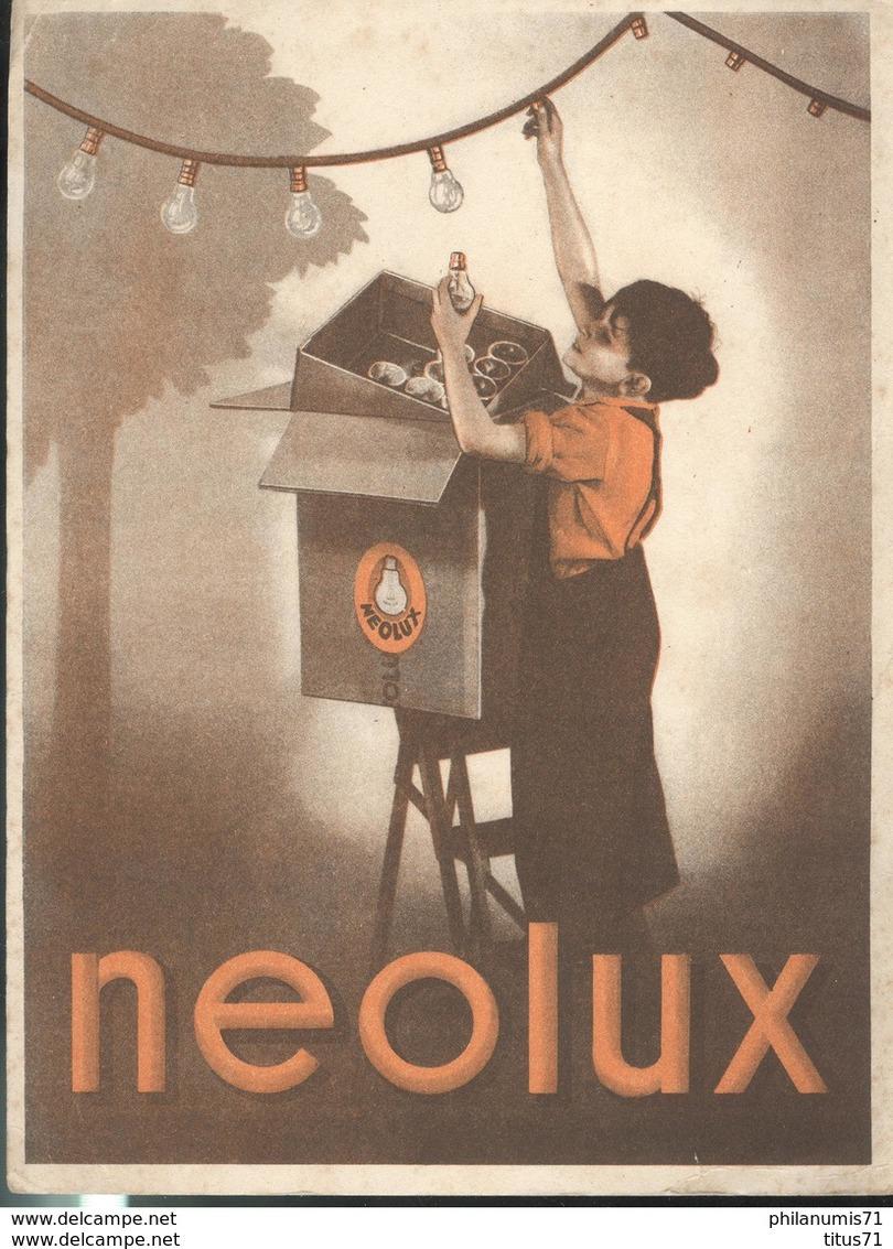 Buvard  Néolux -  Bon état - Electricité & Gaz