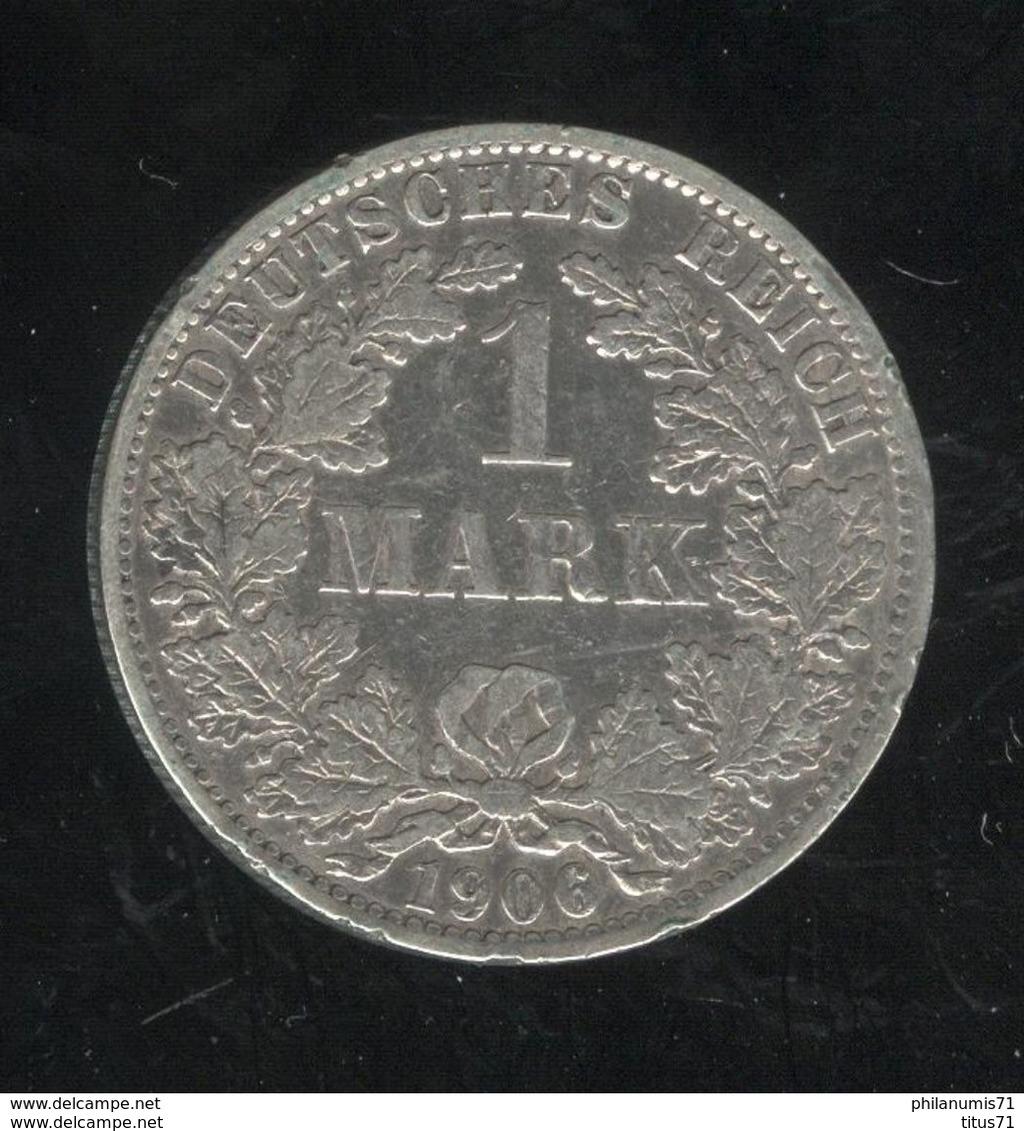 1 Mark Allemagne / Germany 1906 A - [ 2] 1871-1918: Deutsches Kaiserreich