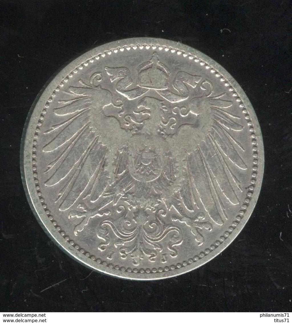 1 Mark Allemagne / Germany 1905 J - [ 2] 1871-1918: Deutsches Kaiserreich