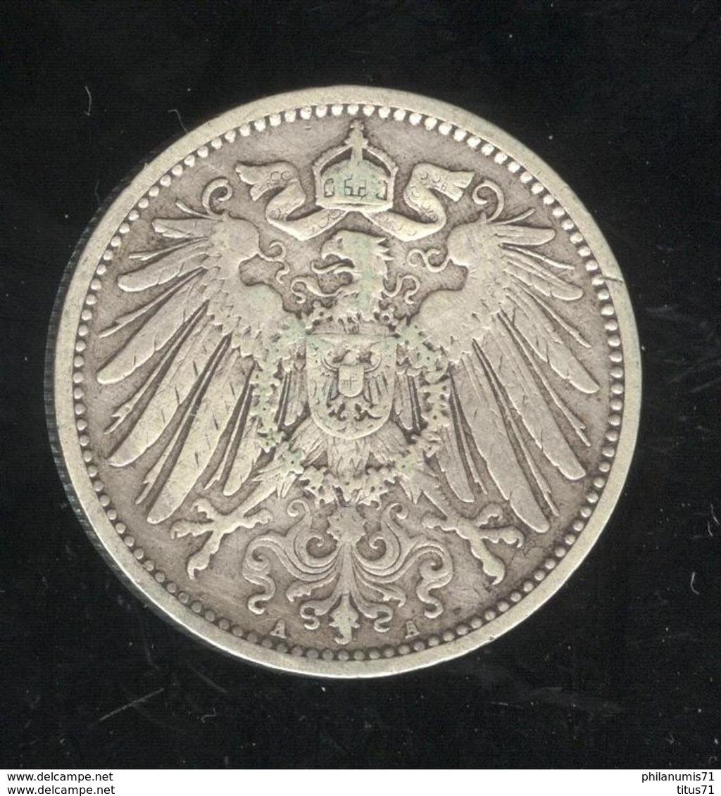 1 Mark Allemagne / Germany 1905 A - [ 2] 1871-1918: Deutsches Kaiserreich