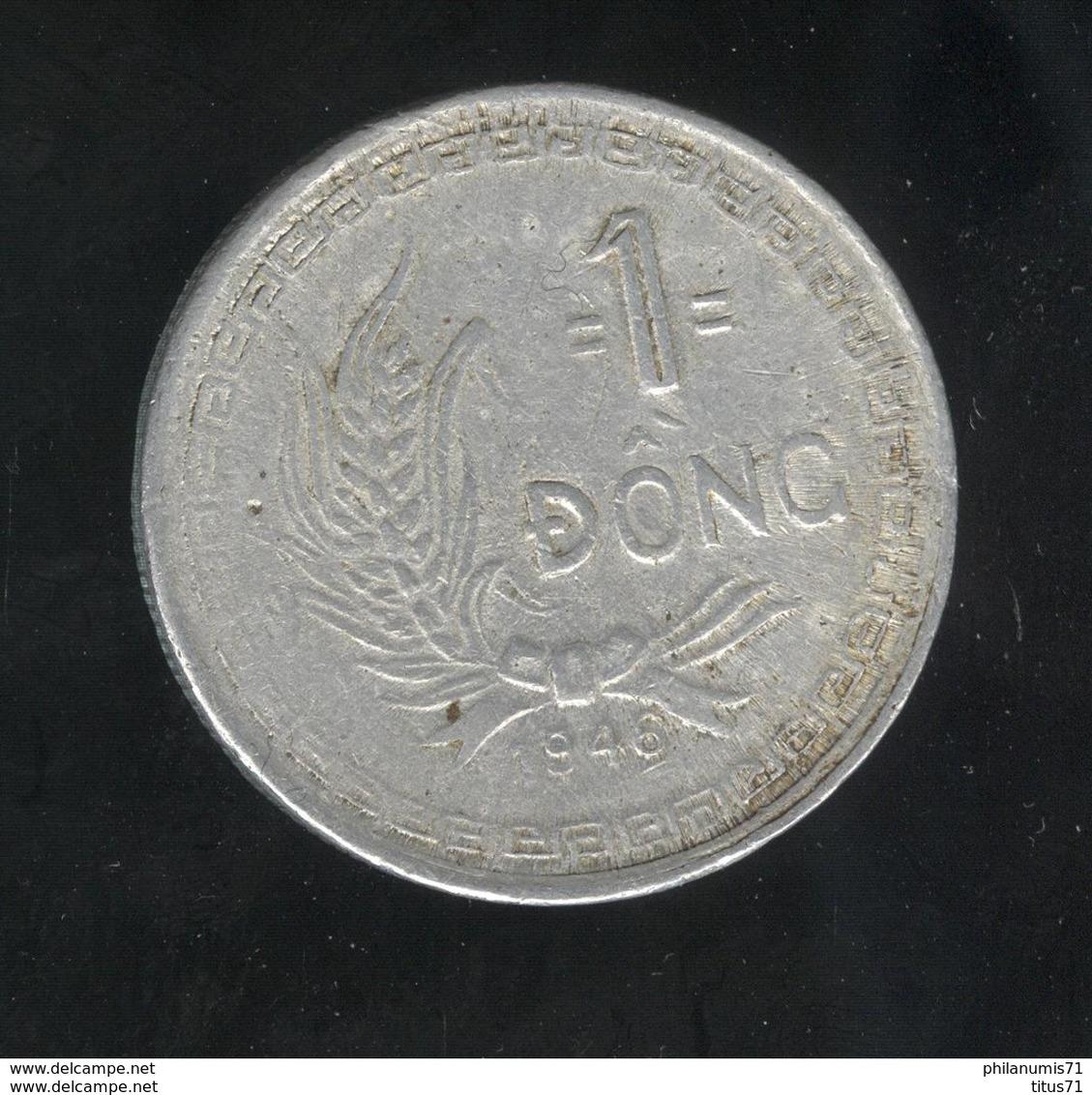 1 Dong Viet Nam 1946 Hô Chi Minh - TB+ - Viêt-Nam