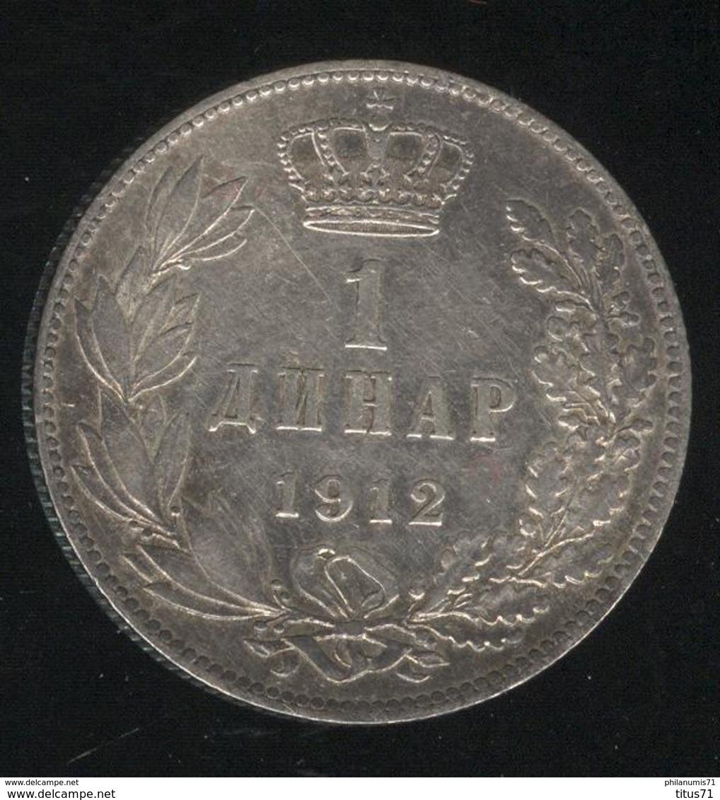 1 Dinar Serbie 1912 TTB+ - Serbie