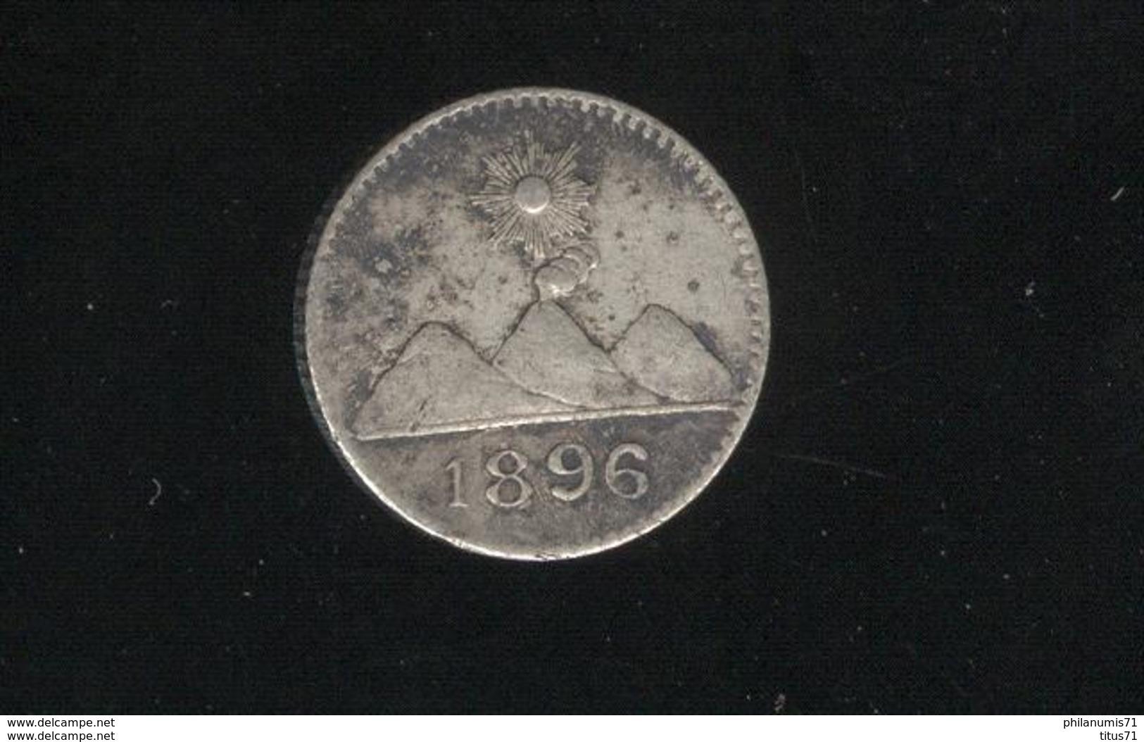 1/4 Réal Guatemala 1896 TTB - Guatemala