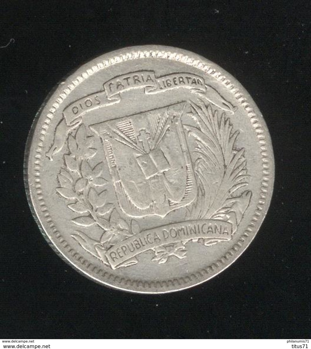 10 Centimos 1953 République Dominicaine TTB - Dominicaine