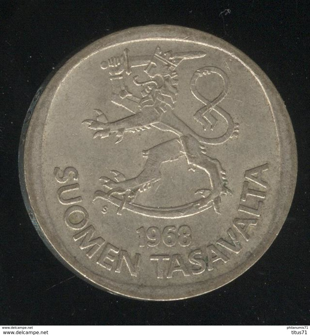 1 Mark Finlande / Suomi 1968 - Finlande
