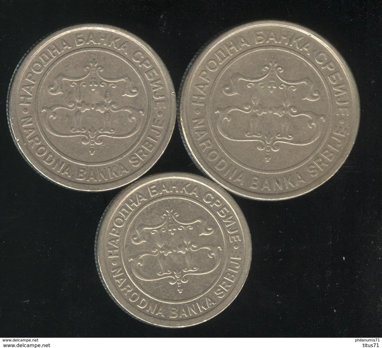 Lot Serbie / Serbia - 5 , 10 , 20 Dinar 2003 - Serbie