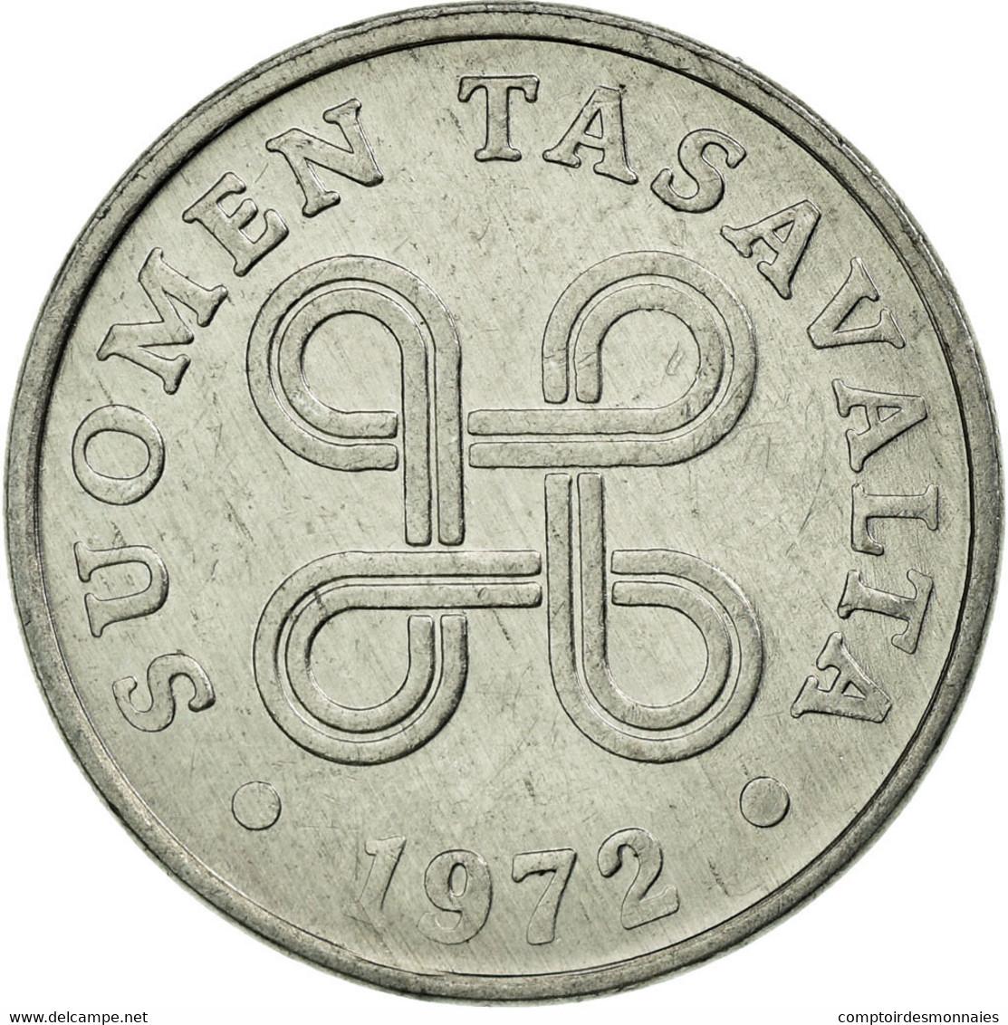 Monnaie, Finlande, Penni, 1972, TTB, Aluminium, KM:44a - Finlande