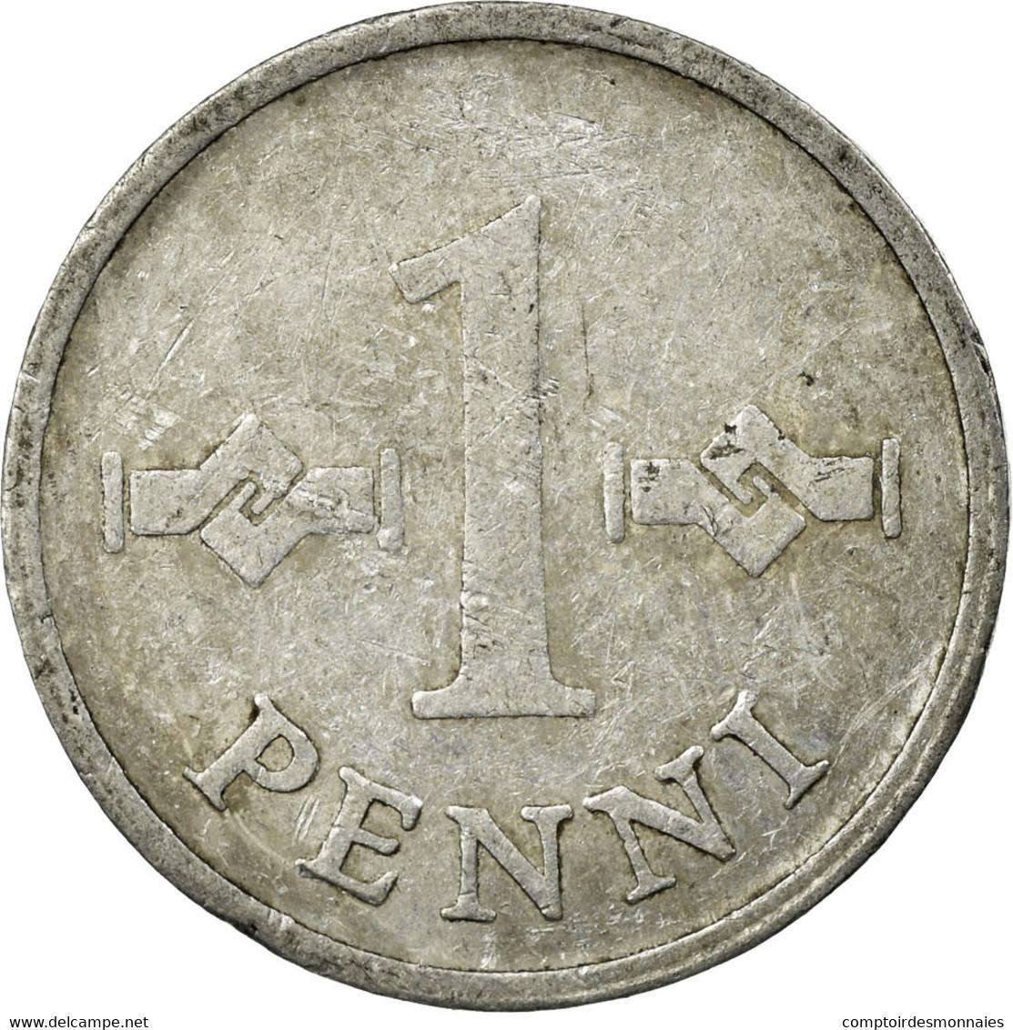 Monnaie, Finlande, Penni, 1969, TB, Aluminium, KM:44a - Finlande