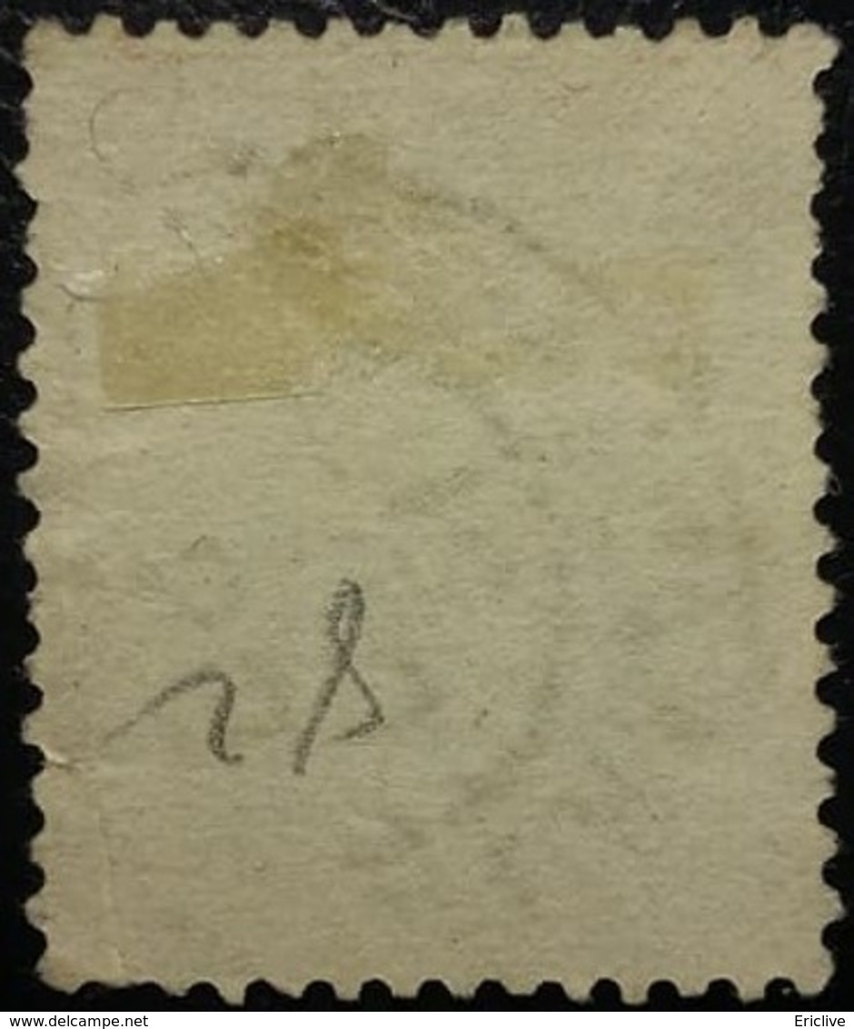 FRANCE N°80 Sage 30c Brun- Jaune. Oblitéré - 1876-1898 Sage (Type II)