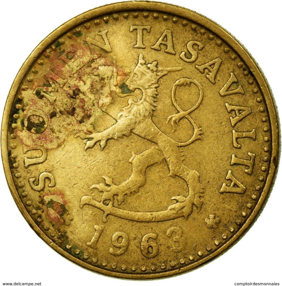 Monnaie, Finlande, 10 Pennia, 1963, TB+, Aluminum-Bronze, KM:46 - Finlande