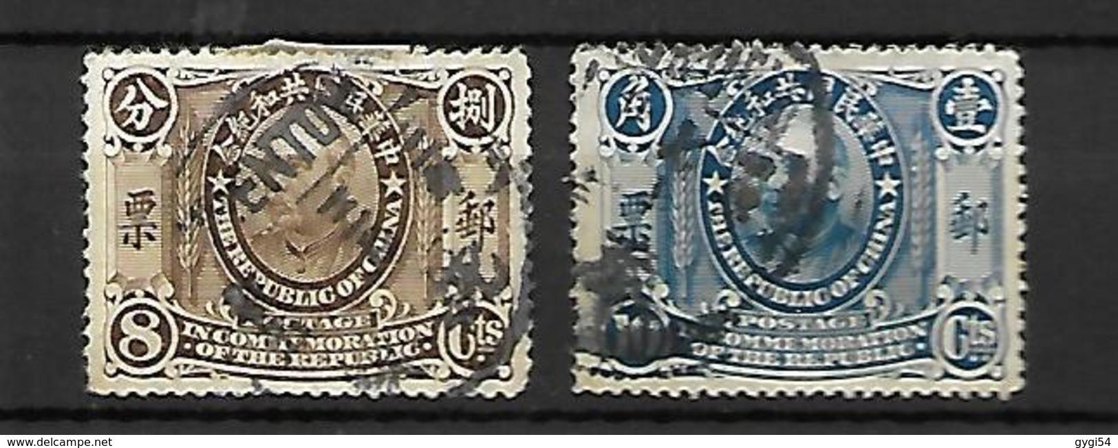 Republique Of China   Formose  Lot - 1888 Chinese Provincie