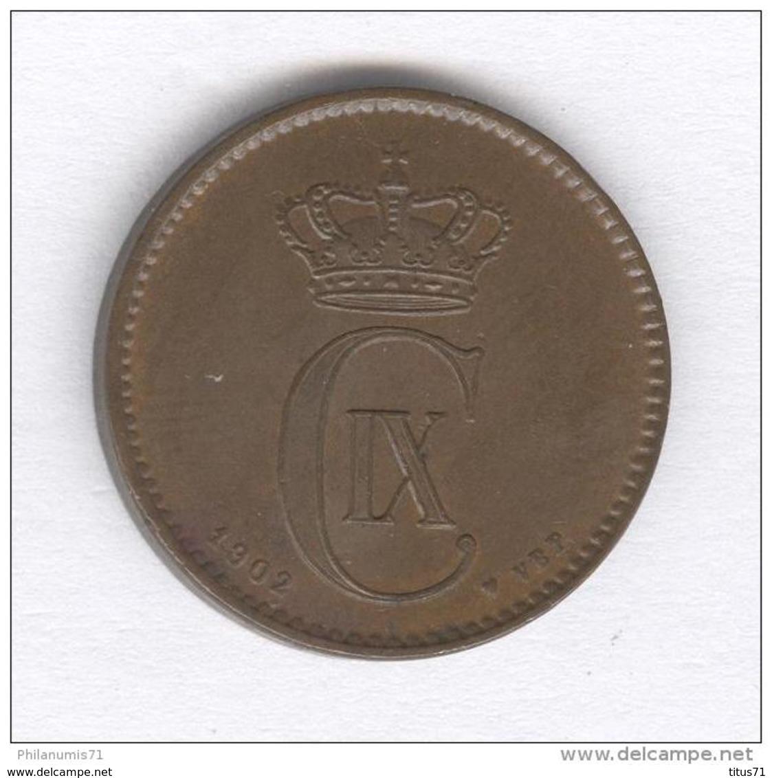 2 Ore Danemark 1902 - Dänemark