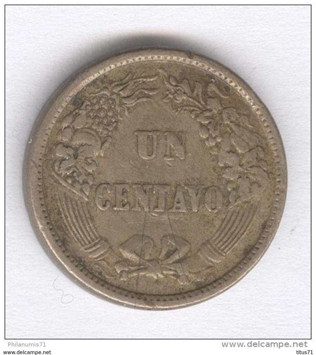 1 Centavo Pérou 1864 - Pérou