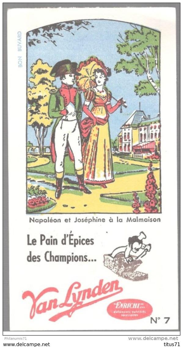 Buvard Van Lynden Pain D'épices - Napoléon Et Joséphine à La Malmaison - Très Bon état - Gingerbread