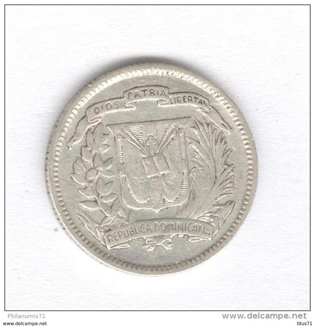 10 Centavos République Dominicaine 1953 - Dominicaine