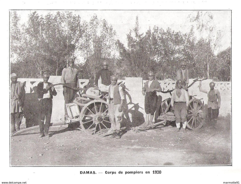 SYRIE ET LIBAN SOUS OCCUPATION ET MANDAT FRANCAIS 1919 1927 LEVANT ARMEE ADMINISTRATION - Livres