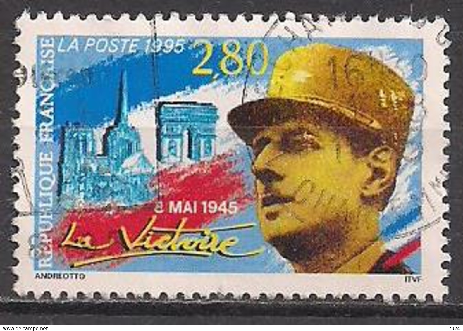 Frankreich  (1995)  Mi.Nr.  3087  Gest. / Used  (3ac40) - Frankreich