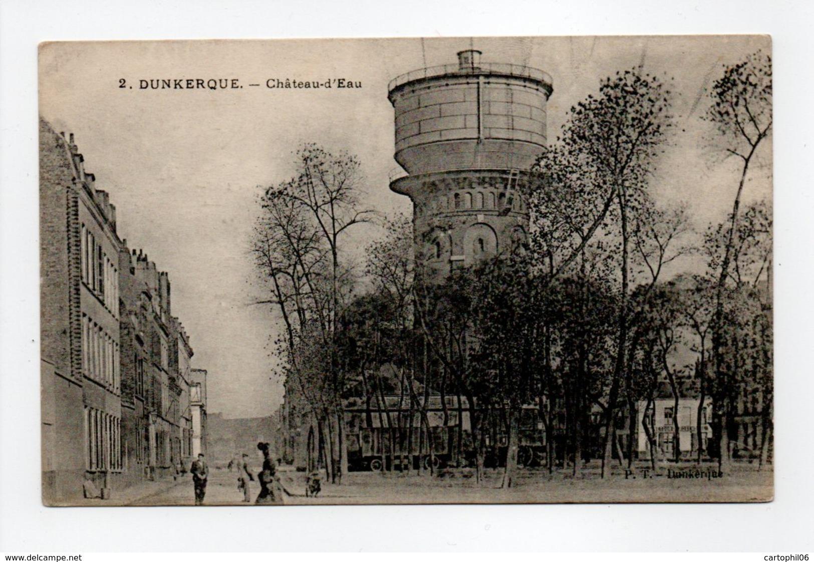 - CPA DUNKERQUE (59) - Château-d'Eau - Edition P. T. N° 2 - - Dunkerque