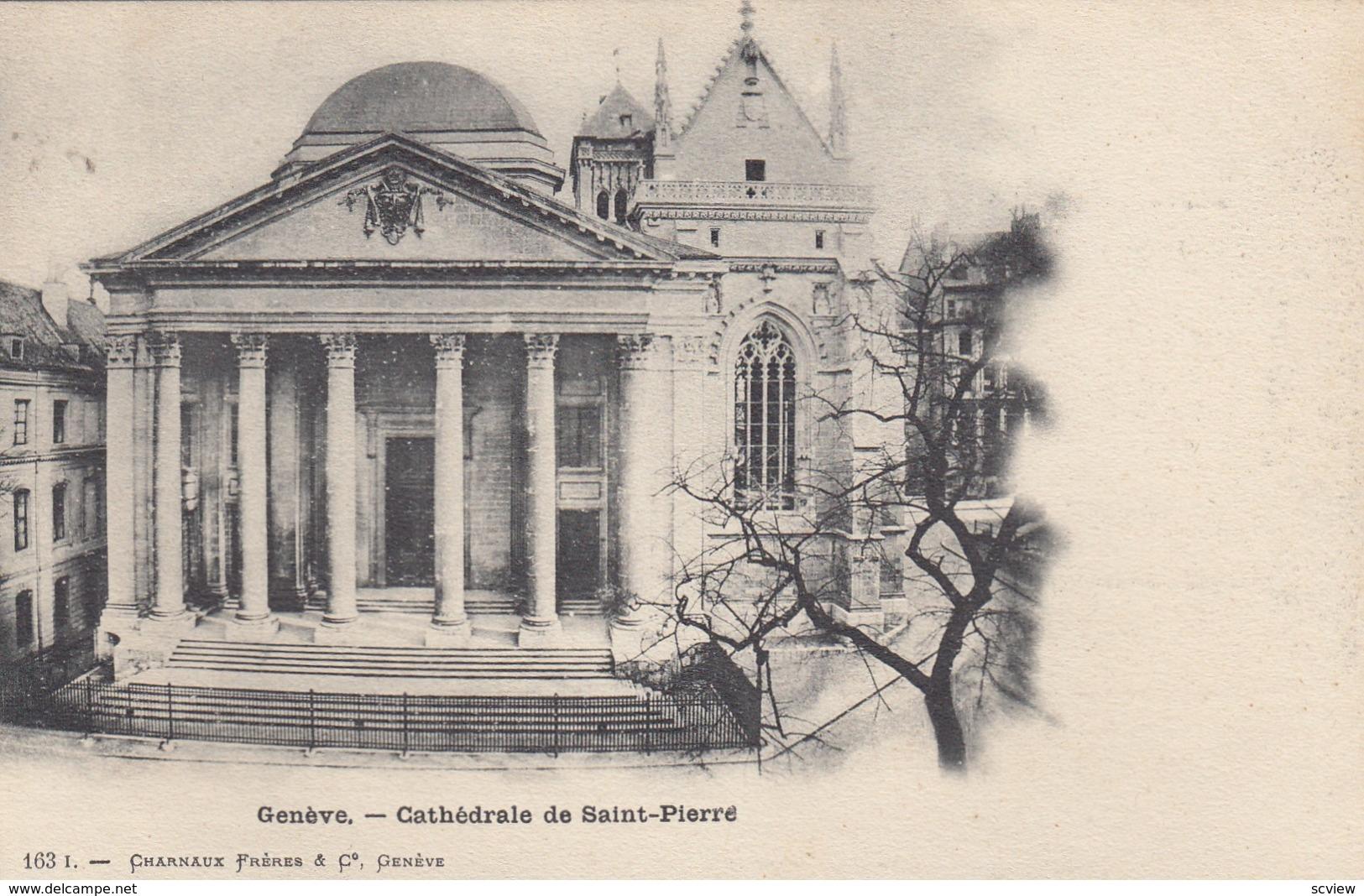 GENEVE, Switzerland, 1900-10s; Cathedrale De Saint-Pierre - GE Genève