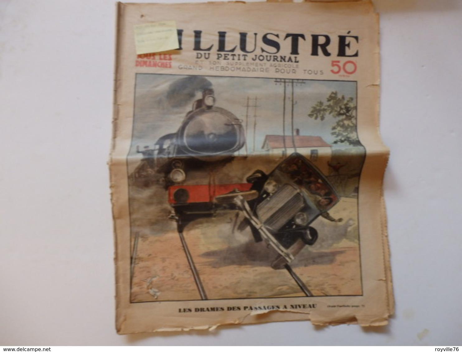 """Journal """"l'illustré"""" Sur Chemins De Fer, Violette Nozière, Pub Agricole. - Giornali"""