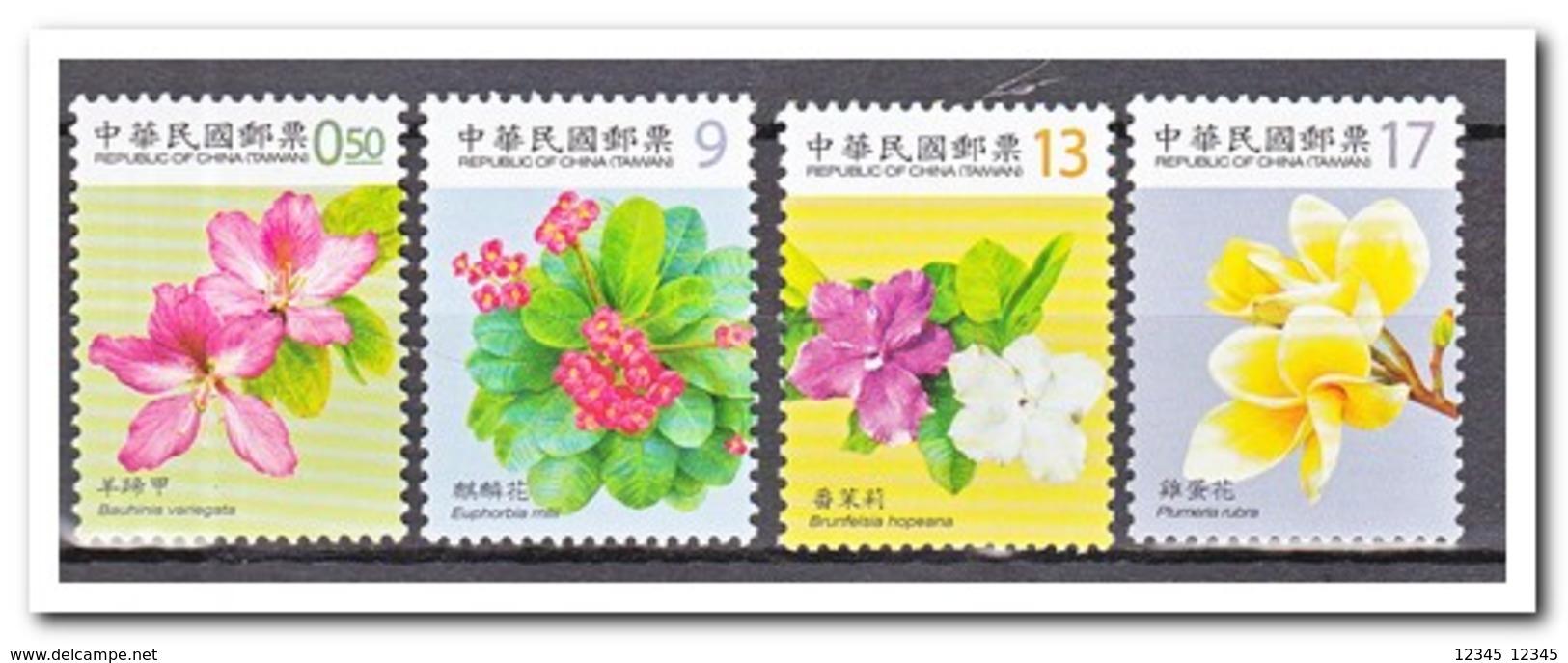Taiwan 2010, Postfris MNH, Flowers - 1945-... Republiek China