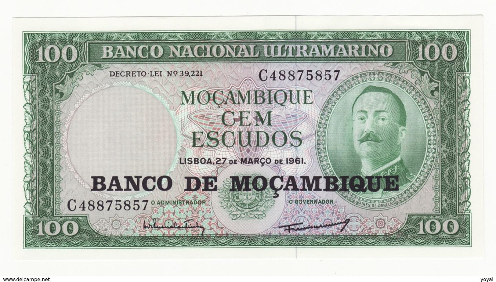 MOZAMBIQUE A TTB - Billets