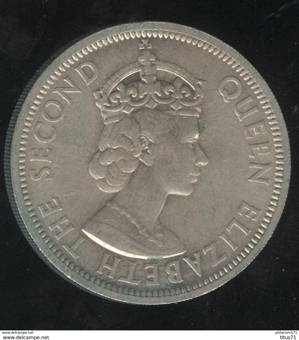 50 Cents British Caibbean Territories 1955 - Caribe Oriental (Estados Del)