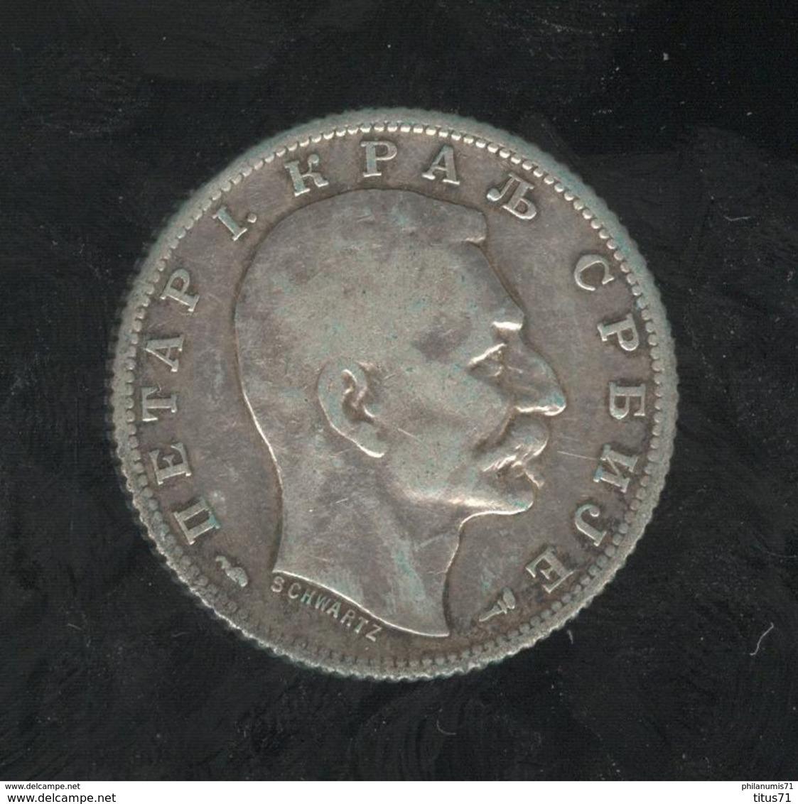 1 Dinar Serbie 1915 - Serbia