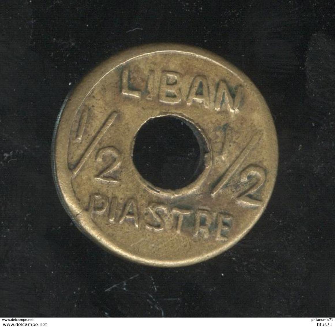 1/2 Piastre Liban / Lebanon 1942 - 1945 - Liban