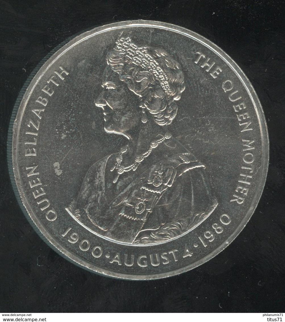 50 Pence Falkland Islands / Iles Malouines - CC Queen Mother 1980 - Autres – Amérique