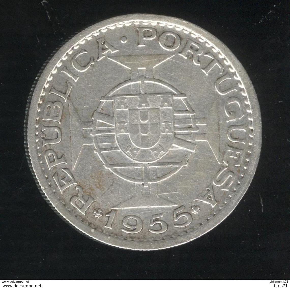 20 Escudos 1955 Angola Colonie Portugaise TTB+ - Angola