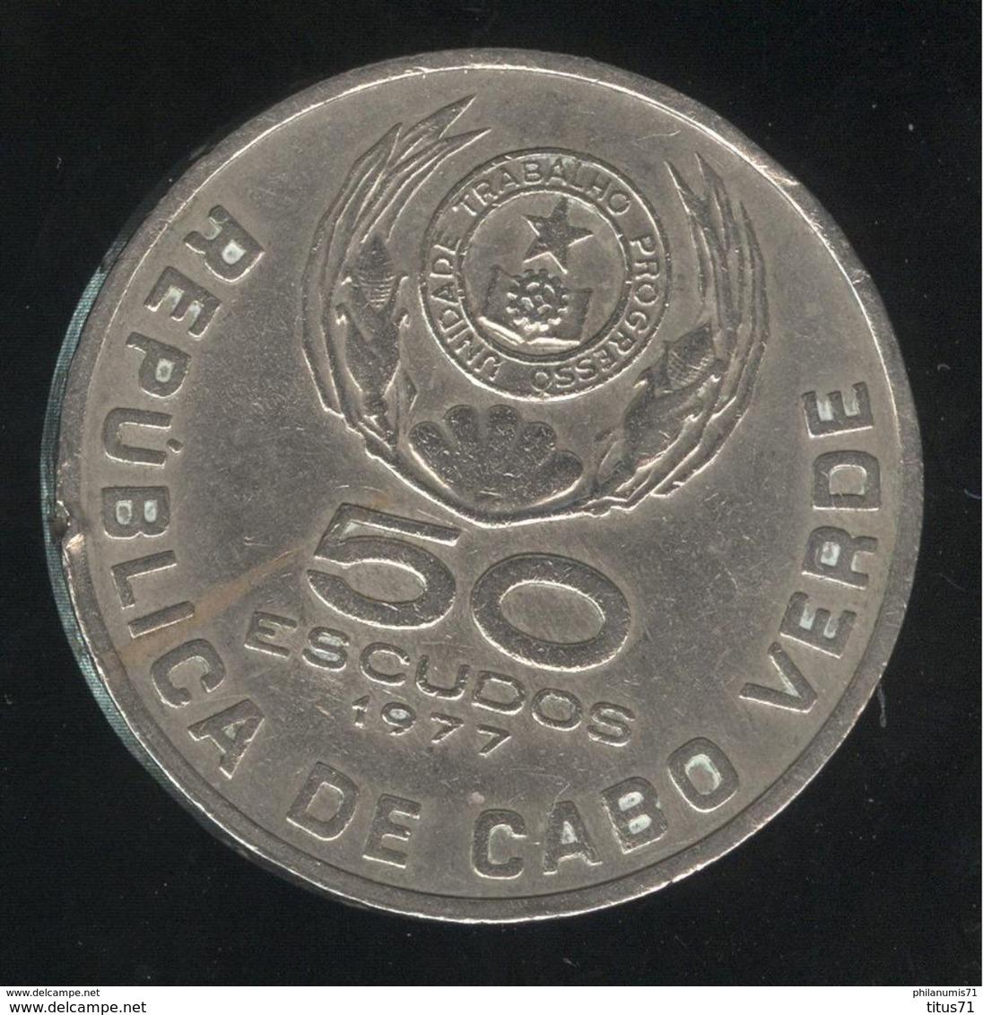 50 Escudos Cap Vert 1977 - TTB - Cape Verde