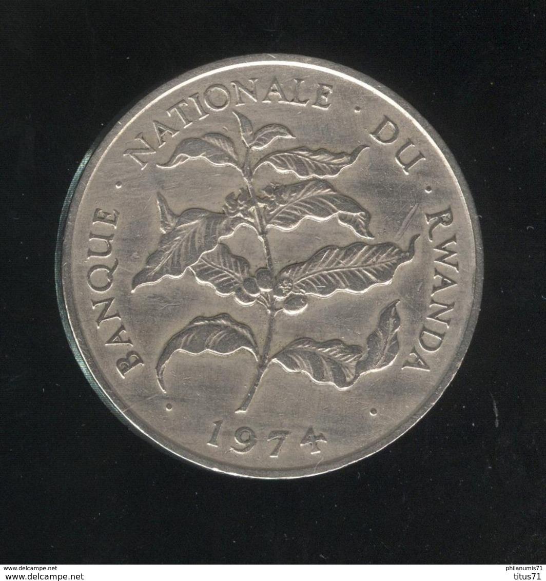 10 Francs Rwanda 1974 TTB+ - Rwanda