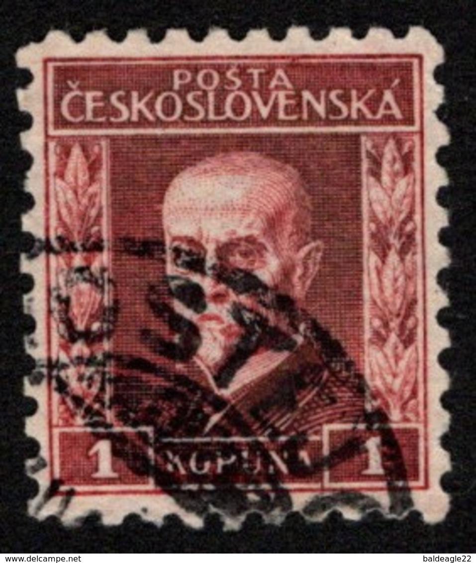 Czechoslovakia - Scott #105 Used - Czechoslovakia