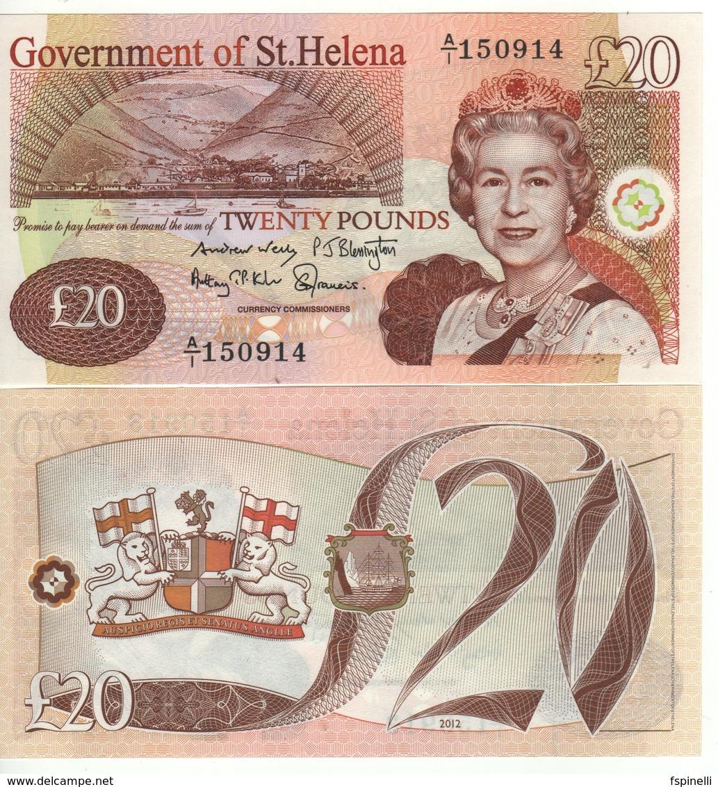 Saint HELENA £ 20   P13b   Dated  2012 - Reino Unido