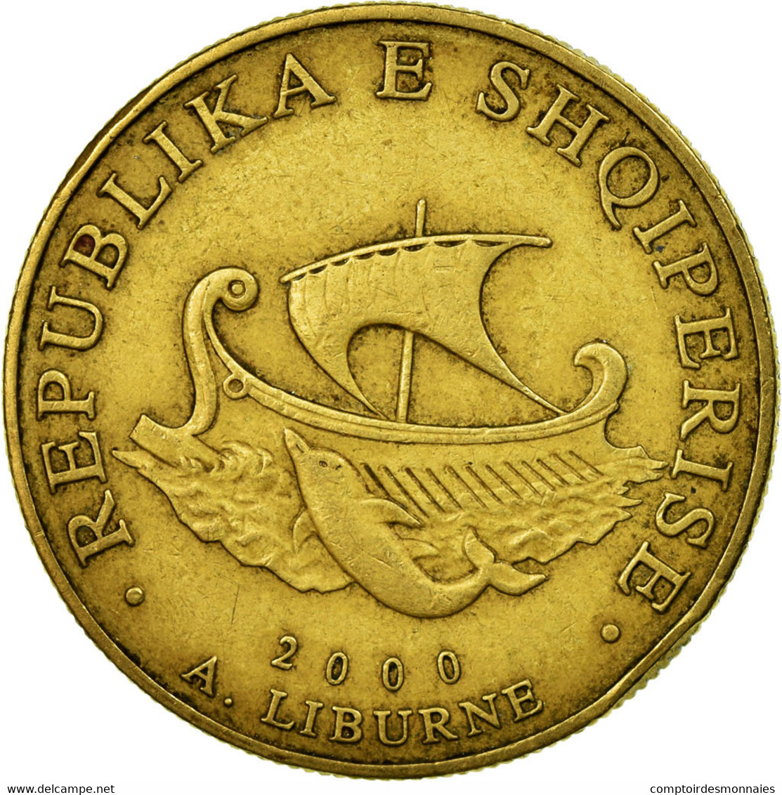 Monnaie, Albania, 20 Leke, 2000, TTB, Aluminum-Bronze, KM:78 - Albanie