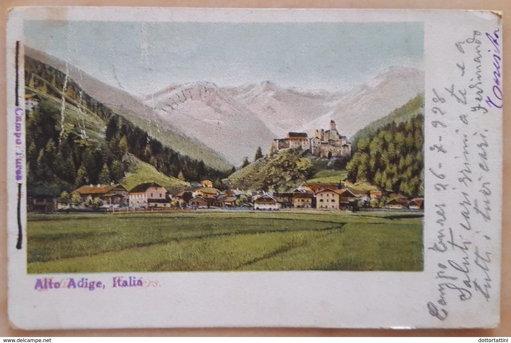 CAMPO TURES - BOLZANO - Italiano Sovrascritto Su Tedesco - 1928 - Bolzano