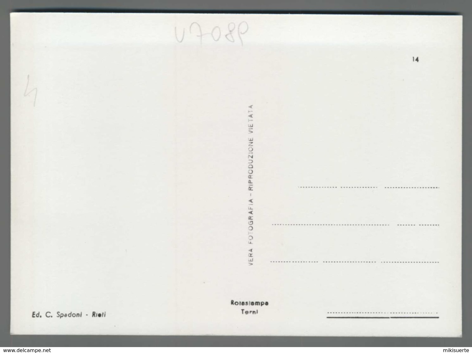V7089 RIETI PONTE SUL VELINO ANIMAZIONE (m) - Rieti