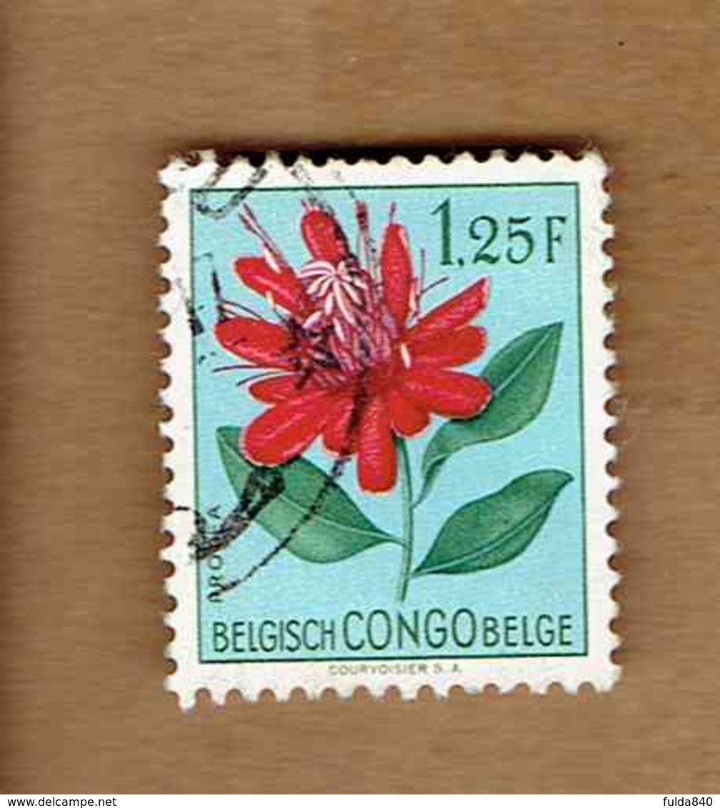 Congo Belge.(COB-OBP)  1952 - N°311    *FLEURS DU CONGO*    1,25F   Oblitéré - Congo Belge