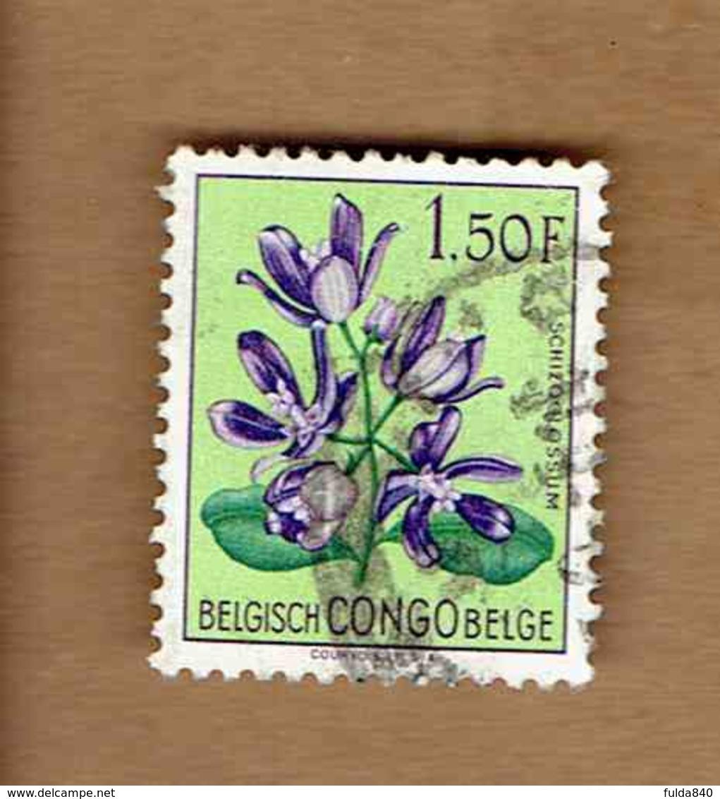 Congo Belge.(COB-OBP)  1952 - N°312    *FLEURS DU CONGO*    1,50F   Oblitéré - Congo Belge