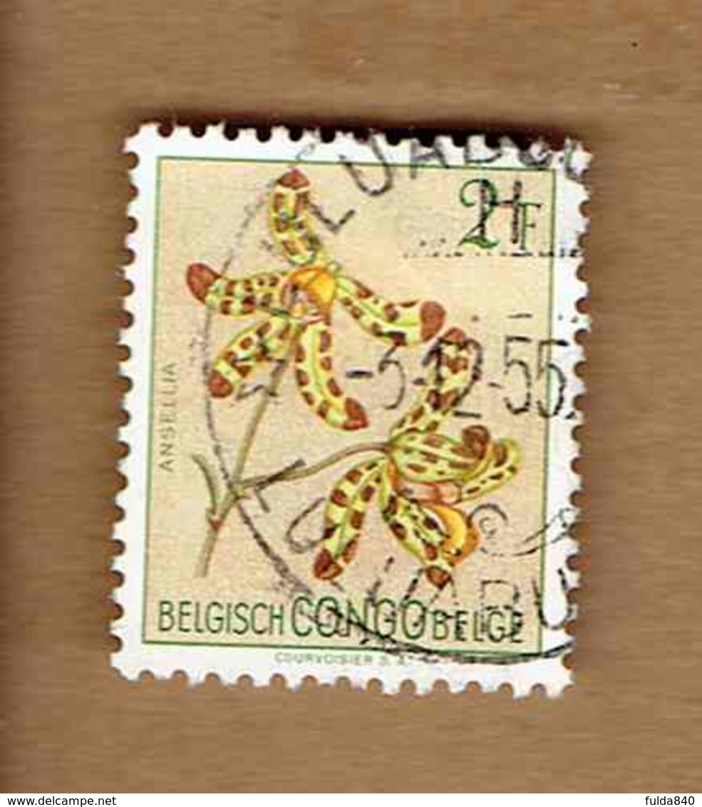 Congo Belge.(COB-OBP)  1952 - N°313    *FLEURS DU CONGO*    2F   Oblitéré - Congo Belge