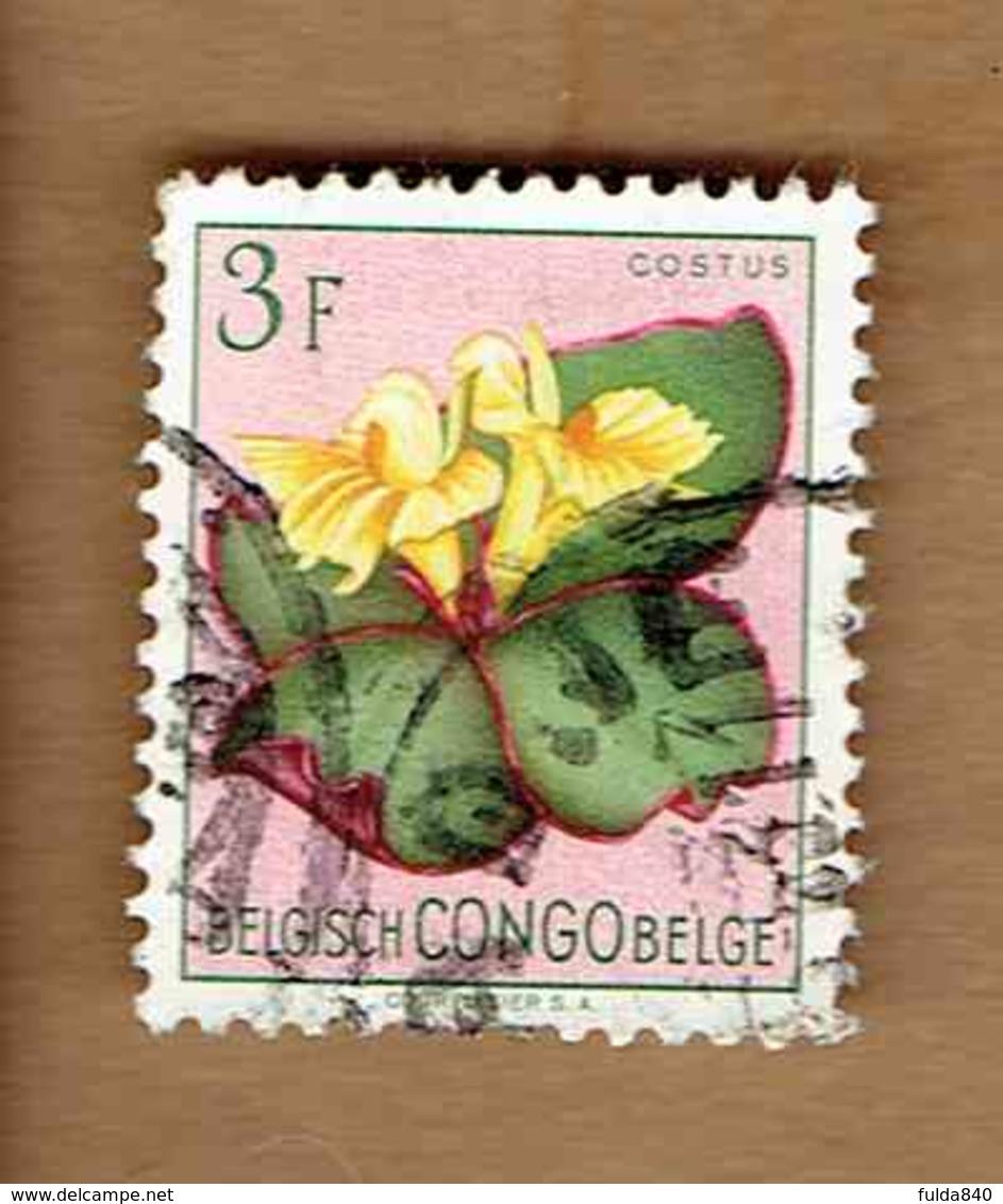 Congo Belge.(COB-OBP)  1952 - N°314    *FLEURS DU CONGO*    3F   Oblitéré - Congo Belge