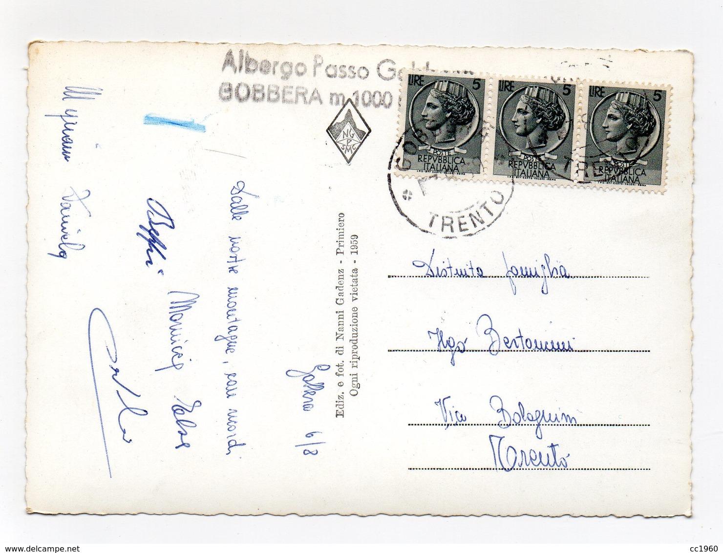Imer (Trento) - Chiesetta Di S. Sivestro Con Le Cime Dalaibol, Piz Di Sagron E Sass Di Mur - Viaggiata - (FDC13041) - Trento