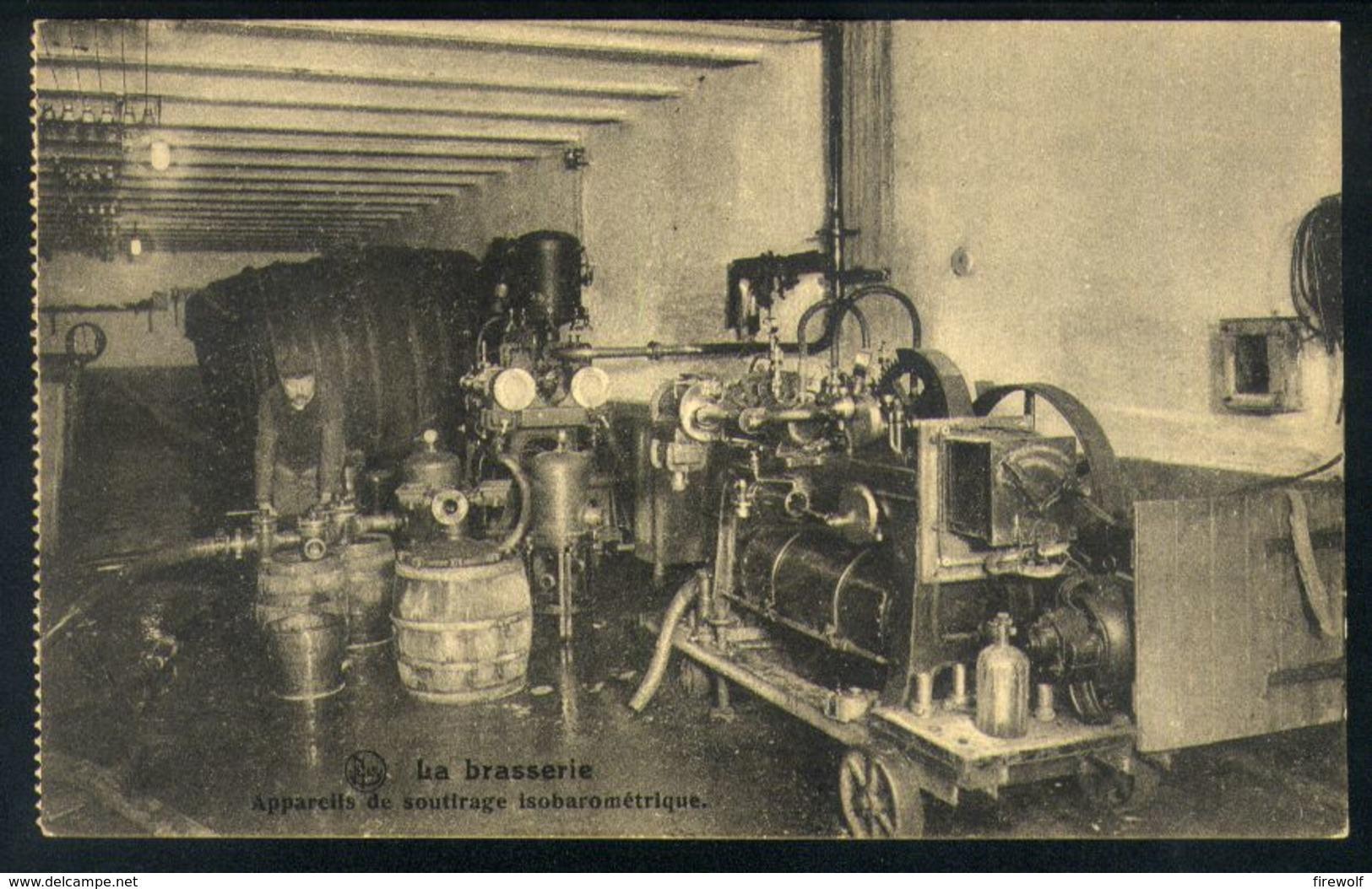 X03 - La Brasserie - Appareils De Soutirage Isobarométrique - Brouwerij / Brewery - Bier / Beer - Belgien