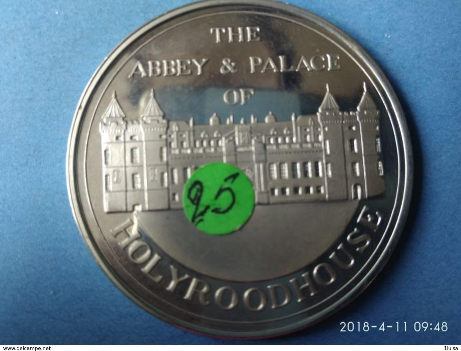 Giubileo D'argento 1952-1977 The Abbey - Palace Of Holyroodhouse - Monarchia/ Nobiltà