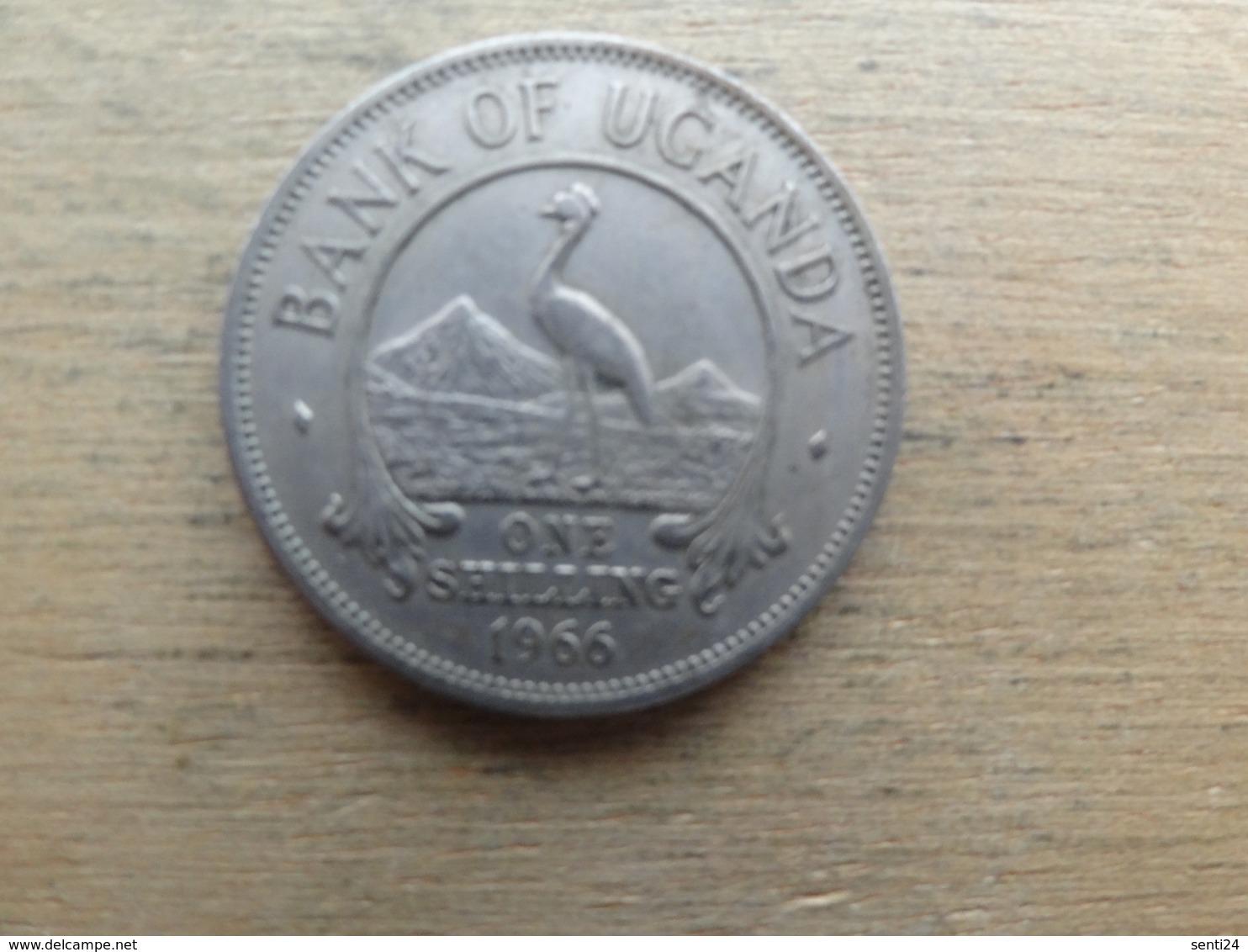Ouganda  1  Shilling  1966  Km 5 - Ouganda