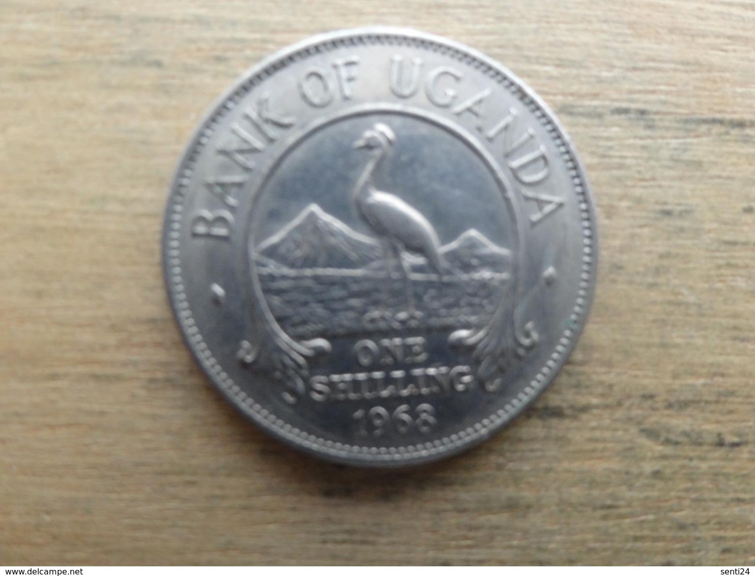 Ouganda  1  Shilling  1968  Km 5 - Ouganda
